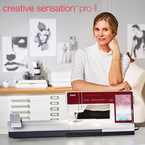 PFAFF creative sensation pro II-featurette